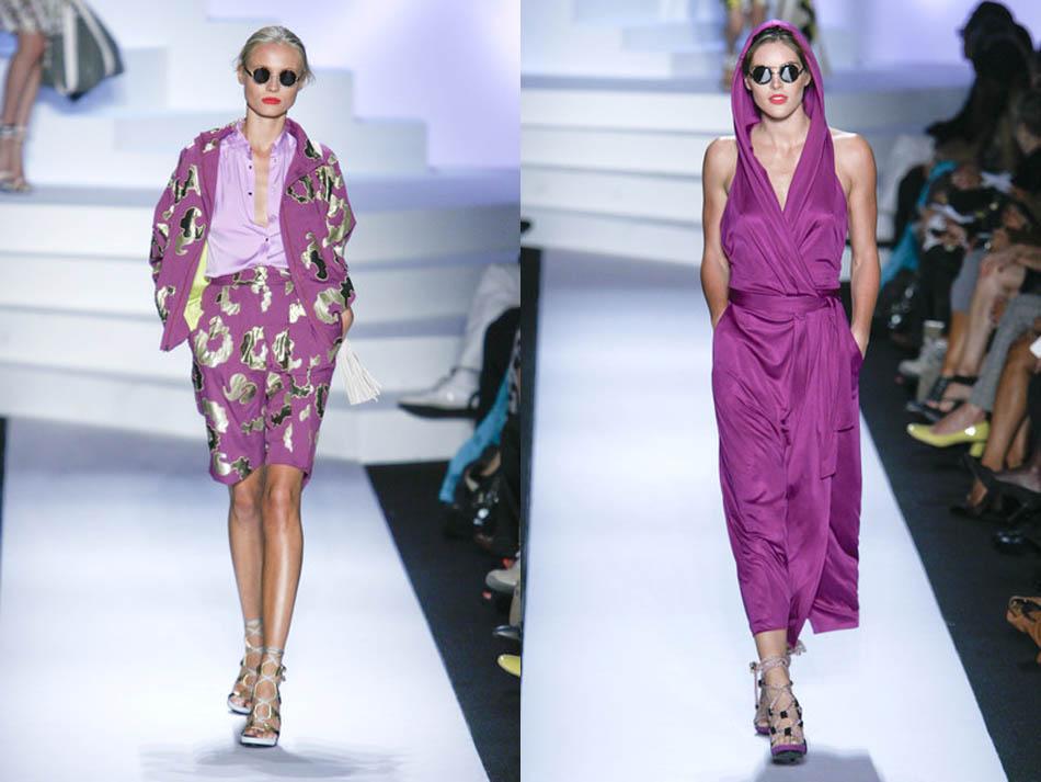 Travel Clothes by Diane von Furstenberg at New York Fashion Week as 2011  Spring Trend
