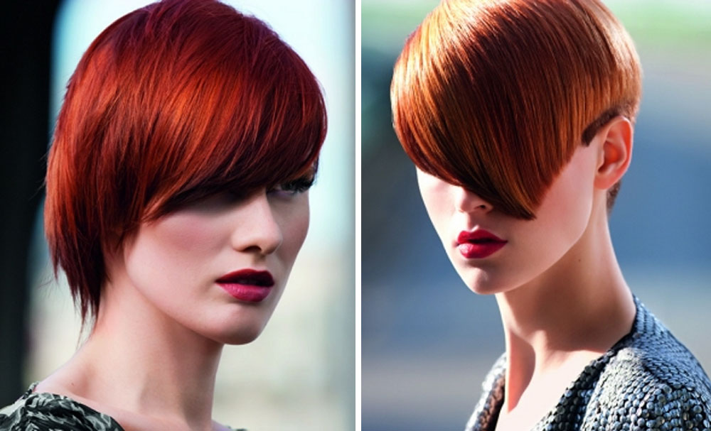 Hair Color Trends: Short Red Hair as Chic Hairstyles