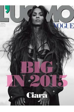 Ciara Fronts L'Uomo Vogue Cover – Fashion Memo Pad – Media